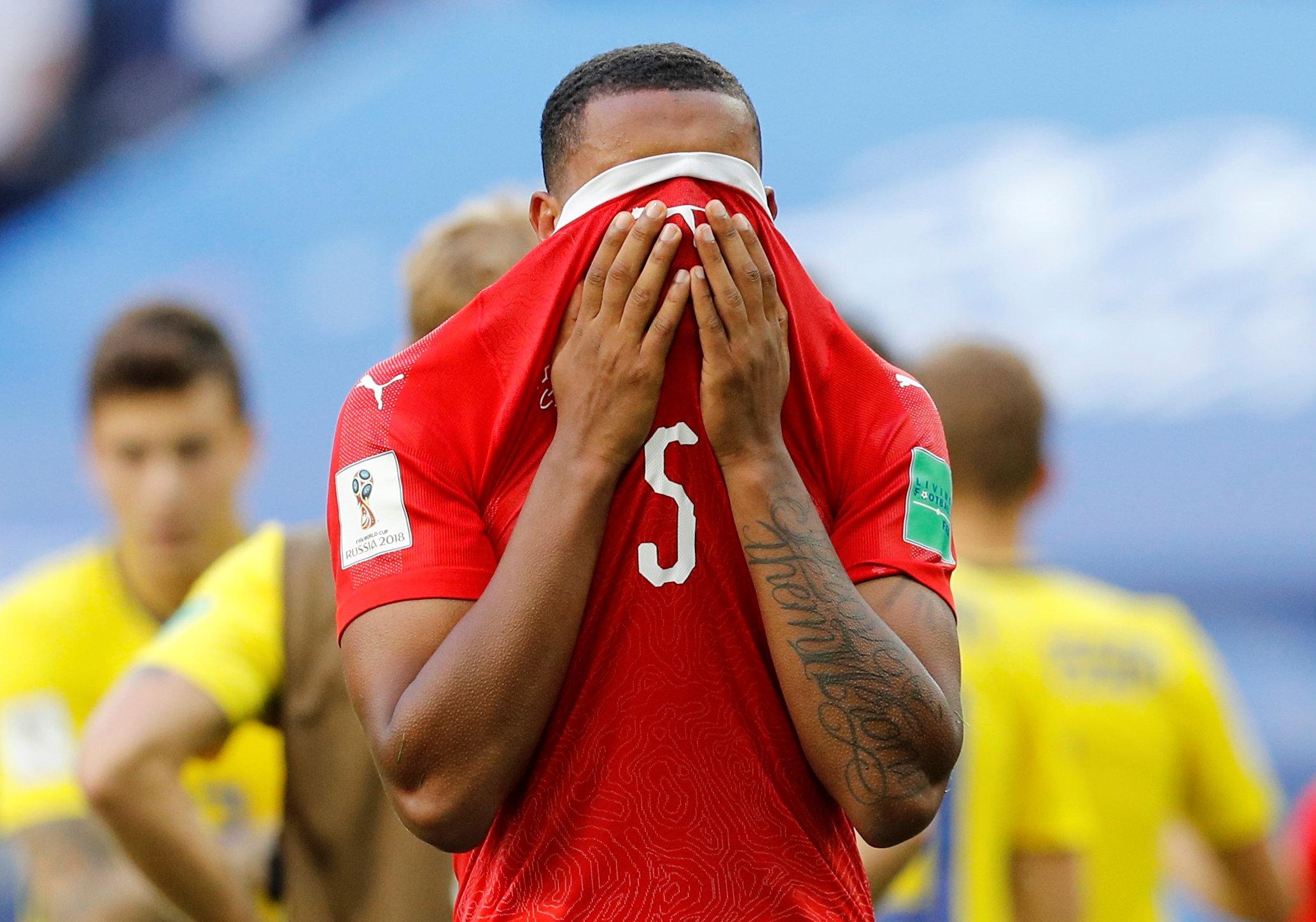 Soccer Football - World Cup - Round of 16 - Sweden vs Switzerland - Saint Petersburg Stadium, Saint Petersburg, Russia - July