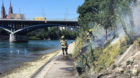 Leichtentzündlich: Vergangene Woche musste die Basler Feuerwehr zum Rhein ausrücken – wegen eines Flurbrands unterhalb de