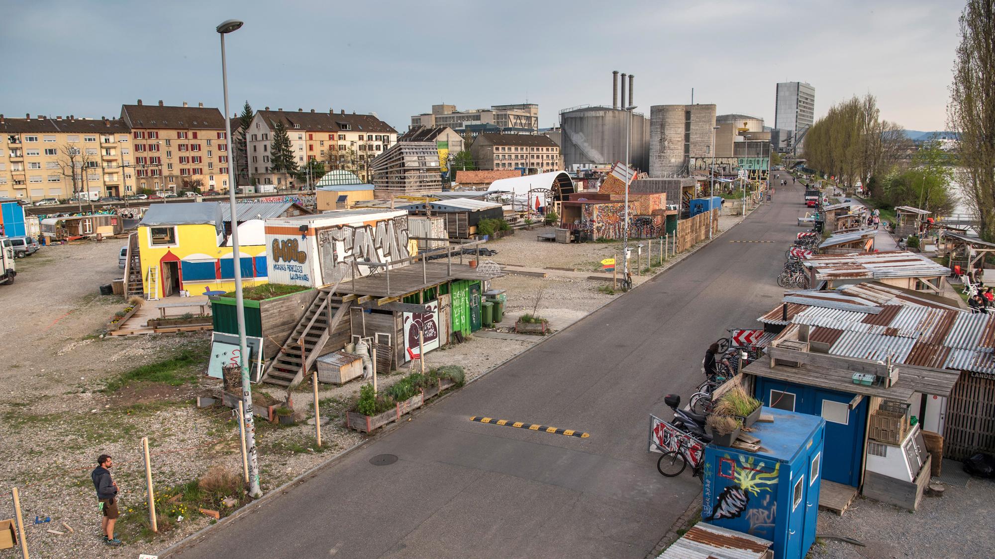 Bis wann können die Zwischennutzungen am Hafen bleiben? Der Kanton stellt eine Verlängerung bis Ende 2023 in Aussicht.