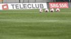 20170602; Lugano; FUSSBALL SUPER LEAGUE - FC Lugano - FC Luzern; Teleclub SRG SSR, Fernsehrechte, TV, Feature, (Andy Muelle