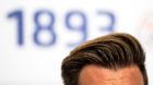 20.07.2017; Basel; Fussball Super League - FC Basel Medienkonferenz;Die Tolle von Trainer Raphael Wicky (Basel)  (Urs Lindt