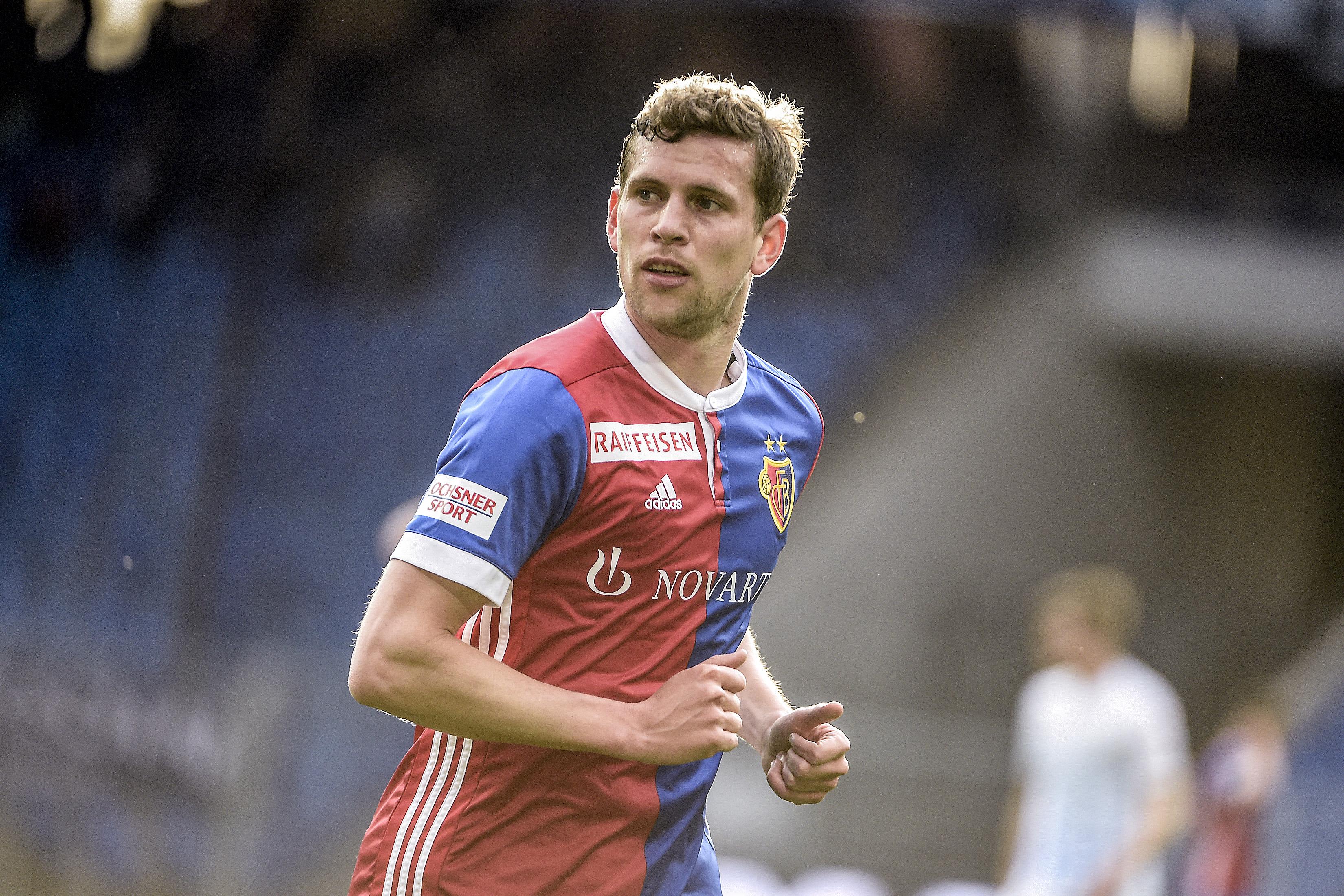 11.04.2018; Basel; Fussball Super League - FC Basel - FC Zuerich; Fabian Frei (Basel) (Daniela Frutiger/freshfocus)
