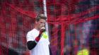 28.07.2018; Neuenburg; Fussball Challenge League - Neuchatel Xamax FCS - FC Basel;Torhueter Jonas Omlin (Basel) (Urs Lindt/