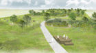 Grenzüberschreitendes Projekt: Der Parc des Carrières.
