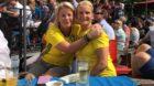 Sie lassen sichs gut gehen: Katarina Livburren (links) und Petra Thomas.