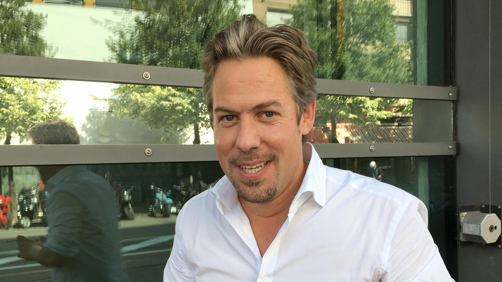 Benedikt von Peter, designierter Direktor des Theater Basel.