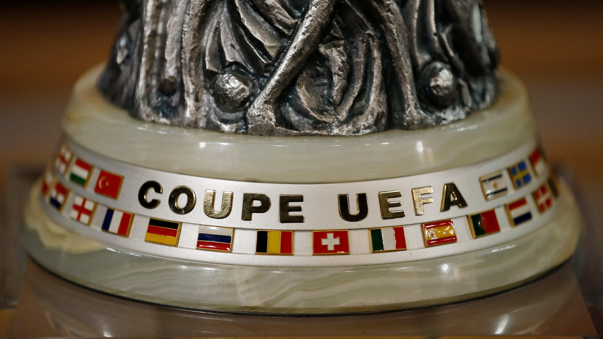 Soccer Football - Europa League Quarter-Final Draw - Nyon, Switzerland - March 16, 2018  The Europa League trophy during the