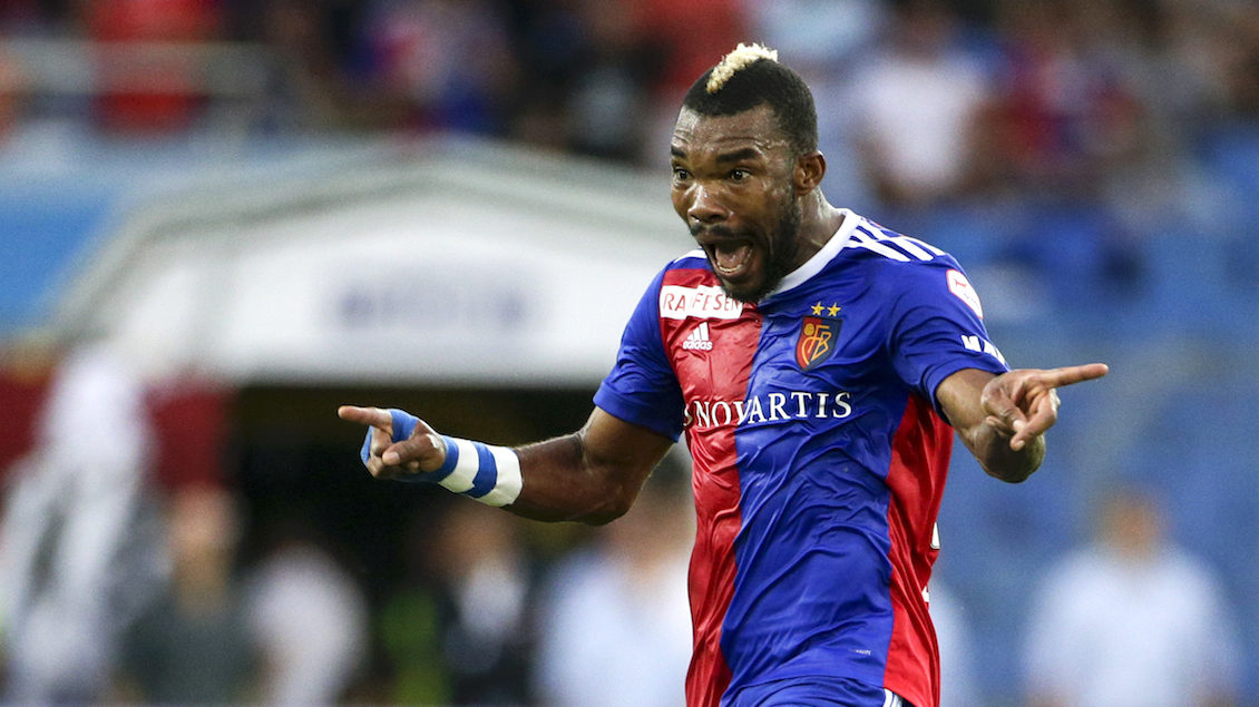 01.08.2018; Basel; UEFA Champions League 2018/19, 2. Qualifikationsrunde, Rueckspiel, FC Basel - PAOK Thessaloniki; Geoffroy