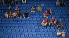 16.08.2018; Basel; Fussball Europa League Qualifikation - FC Basel - SBV Vitesse Arnheim; Fans Basel verfolgen das Spiel (U