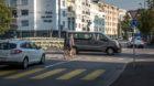 Dorenbachkreisel an der Kantonsgrenze: Baselbieter Autofahrer zahlen deutlich höhere Gebühren als die Stadtbasler.
