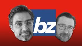 Patrick Marcolli (links) ersetzt David Sieber als Chefredaktor der «bz Basel».