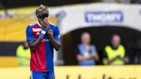 23.09.2018; Bern; Fussball Super League - BSC Young Boys - FC Basel;Geoffroy Serey Die (Basel) enttaeuscht (Urs Lindt/fresh