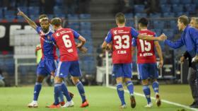 26.09.2018; Basel; Fussball Super League - FC Basel - FC Luzern; Geoffroy Serey Die (Basel) jubelt nach dem Tor zum 2:0 (Dani