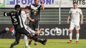 30.09.2018; Lugano; FUSSBALL SUPER LEAGUE - FC Lugano - FC Basel;Albian Ajeti (Basel) erzielt das Tor zum 0:2 gegen Eloge Ya