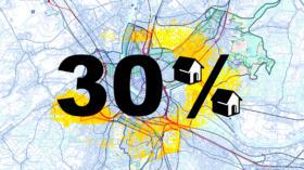 Im neuen Basler Richtplan ist bei den Entwicklungsgebieten ein Mindestanteil von einem Drittel an günstigem Wohnraum festges