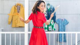 Greta Aguilar arbeitet als sustainable fashion stylist und hat diesen Ansatz: Wer seinen Stil gut kennt, kann bewusster kaufe