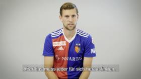 Auseinandersetzung mit dem Thema Organspende: Fabian Frei, Fussballprofi beim FC Basel.