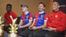 15.01.2018; Marbella; Fussball Super League - Trainingslager FC Basel; FCB esports im Duell mit Spielern der ersten Mannscha