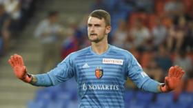 23.08.2018; Basel; Fussball Europa League - Qualifikation FC Basel - Apollon Limassol FC; Torhueter Martin Hansen (Basel) (Da