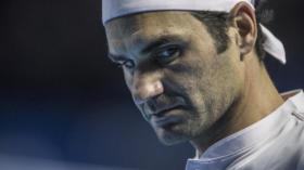 23.10.2018; Basel; Tennis - Swiss Indoors 2018; Roger Federer (SUI) (Benjamin Soland/Blick/freshfocus) ---------------------
