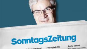 Wird Markus Somm Kolumnist bei der «Sonntagszeitung»? Tamedia gibt sich bedeckt.