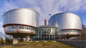 Geb‰ude des Europ‰ischer Gerichtshof f¸r Menschenrechte in Straflburg,