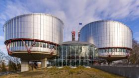 Geb‰ude des Europ‰ischer Gerichtshof f¸r Menschenrechte in Straflburg,Building the European Court for Human rights in