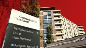 In kritischem Zustand: das Kantonsspital Baselland.