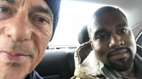 Der Superstar und der Stararchitekt: Kanye West besuchte Jacques Herzog in Basel.