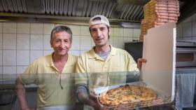 Mehmet Yildiz (links) und Mehmet Ortac machen die beste Fastfood-Pizza der Stadt. Punkt.