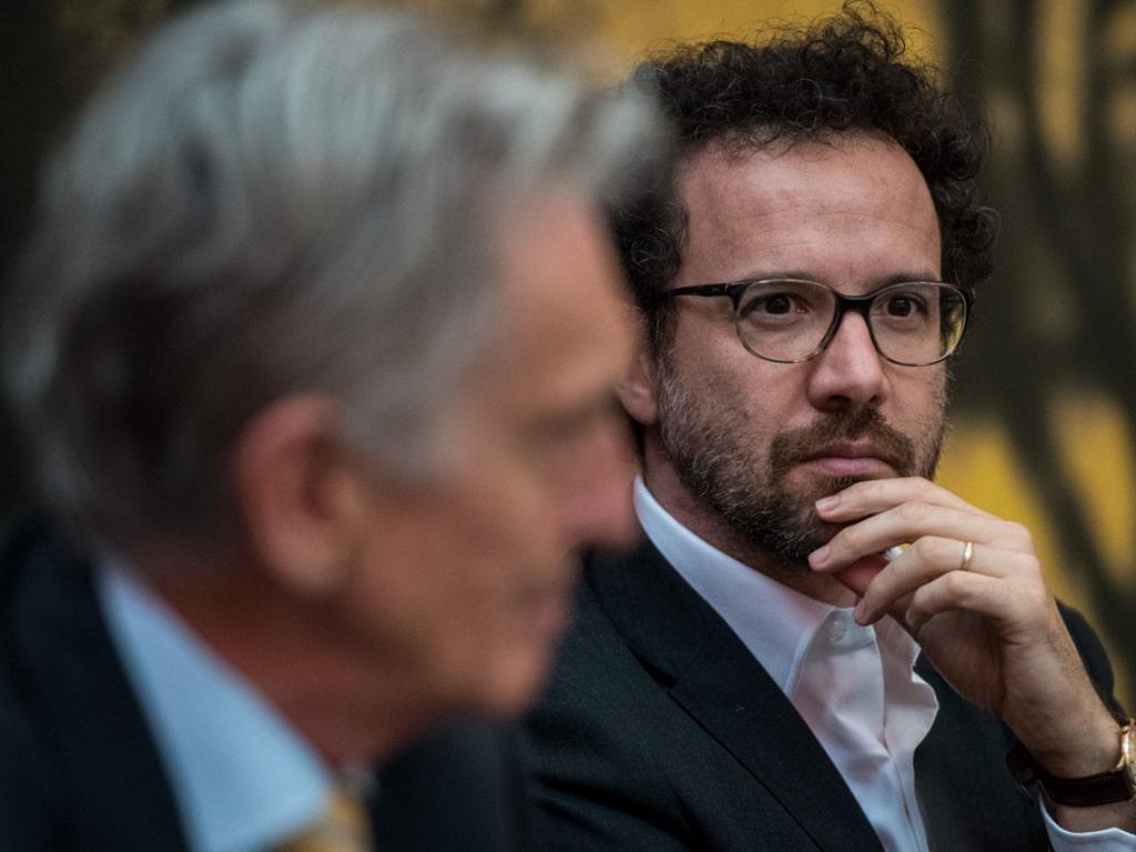 Präsident Marco Solari (links, im Vordergrund) und der künstlerische Leiter Carlo Chatrian wollen an der 70. Ausgabe des Fe