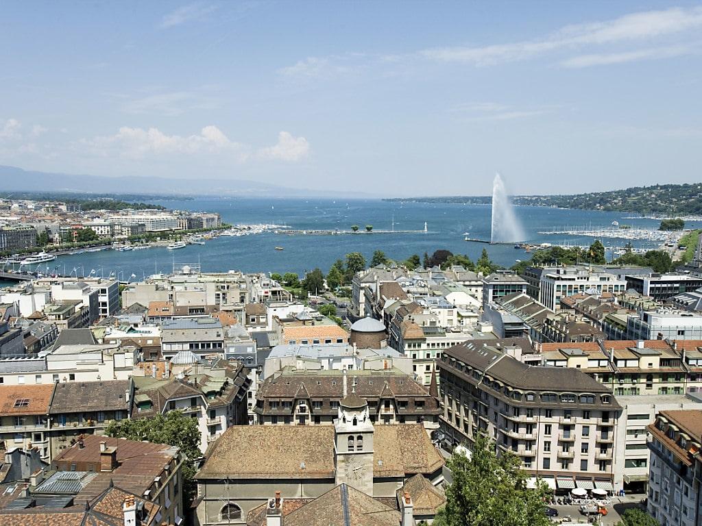 Grosse Städte wie Genf, Basel und Zürich leiden mitunter an Platznot, haben aber trotzdem in den letzten 25 Jahren als Wohn
