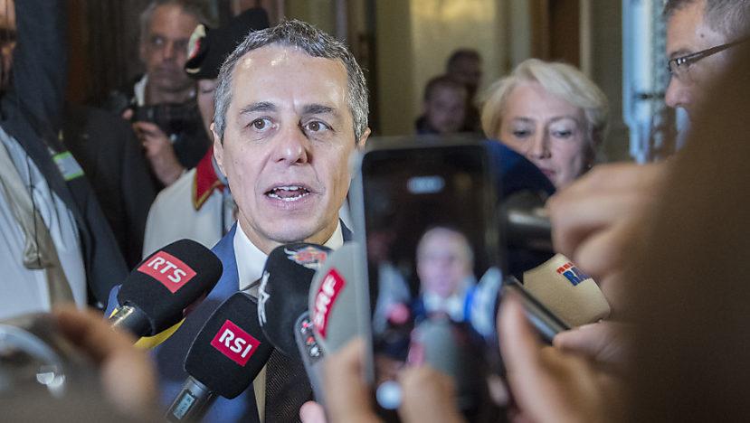 Bundesrat Ignazio Cassis muss vielen Erwartungen gerecht werden.