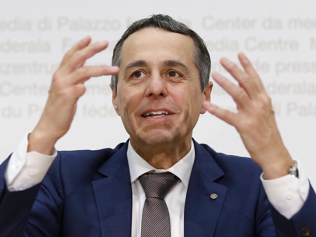 Der neugewählte Bundesrat Ignazio Cassis übernimmt das Aussendepartement. (Archiv)