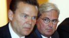 Hariolf Kottmann von Clariant (rechts) hätte Verwaltungsratspräsident des fusionierten Unternehmens werden sollen, Peter Hu