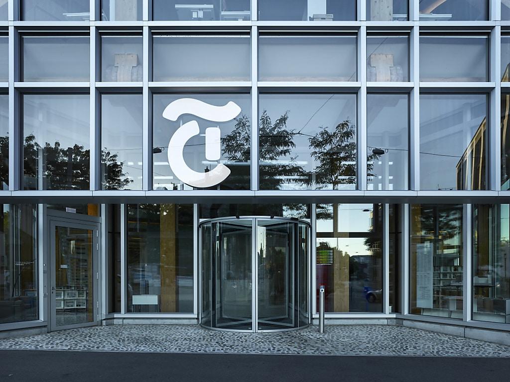 Blick auf das Tamedia-Gebäude in Zürich: Rund 20 Prozent der Leser beim Medienkonzern nutzen einen Werbeblocker. Für sie s