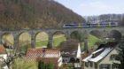 """Über das historische Viadukt bei Rümlingen BL fahren weiterhin S-Bahn-Züge. Das """"Läufefingerli"""" wird nicht eingestellt."""